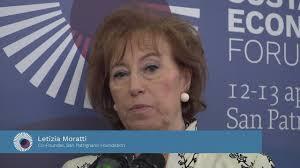 Comunità San Patrignano - Letizia Moratti - Sustainable Economy Forum