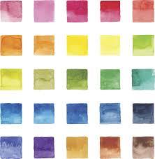 Watercolor Color Chart Watercolor Color Chart By Saemilee