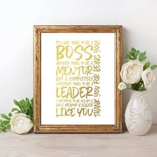 Thank You Gift For Boss Boss Thank You Gift Its One Thing To Be A Boss Printable Boss Day