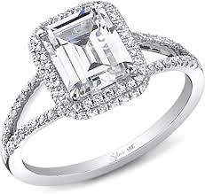 sylvie split shank diamond engagement ring sy289