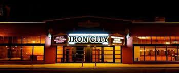 Iron City Birmingham Seating Chart Iron City Bham Mens Black Wedding Bands
