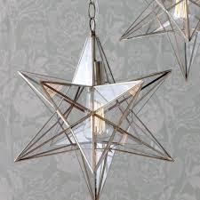 c01lc2016 star shaped glass lantern ceiling light pendant