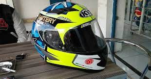 Maybe you would like to learn more about one of these? Kumpulan Gambar Modifikasi Helm Yamaha Vixion