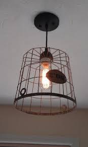 primitive lighting ideas. Laundry Room Drop Your Pants Here | Wire Basket Light For Room. Primitive Lighting Ideas M