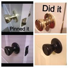 antique bronze door knobs. Antique Bronze Door Handle Oil Rubbed Spray Painted Knobs Pinned It Did