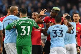Image result for man united vs man city pictures