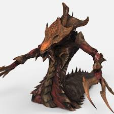 Hydralisk from Starcraft 2 Free 3D Model