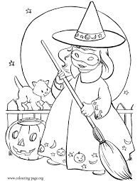 Halloween Color Coloring Pages Print Coloring