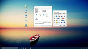 old desktop icons in Windows 10 ...