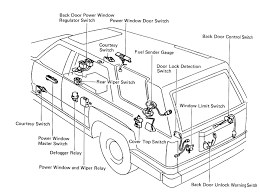 99 4runner wiring diagram 99 wiring diagrams online 4runner rear window cheap tricks
