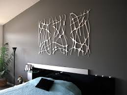gray wall art for bedroom