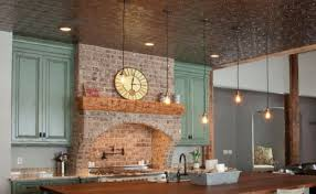 decorative ceiling tiles. Fasade Decorative Ceiling Tile Rustic Kitchen Sterling Carpet One Tiles