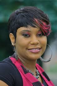 Hair Style For Plus Size stunning short haircut one side long plus size african american 5415 by stevesalt.us