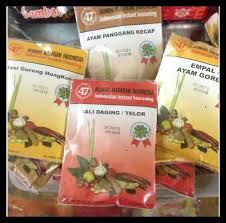 Setiap makanan tradisional indonesia memiliki kekhasannya sendiri tergantung dari mana asalnya. Jual Bumbu Masak Cap 47 Malang Bumbu Masakan Indonesia Instant Aneka Rasa Jakarta Barat Store Clarissa01 Tokopedia