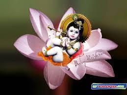 All World Wallpapers: Baby Krishna ...