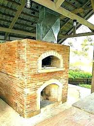 outdoor fireplace pizza oven combo how to build an