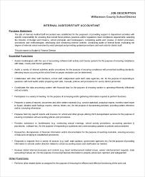 8+ Staff Accountant Job Description Samples | Sample Templates