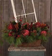 outdoor christams arrangement