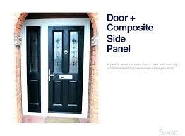 black front door with glass front door side panels black front door with glass side panels