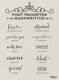 handwritten fonts for all of your creative and diy projects ging graphic d