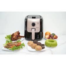 Nồi Chiên Không Dầu Chef & Chef 5,5L - 1400W-Công nghệ Đức-Bảo Hành 12  tháng- Công nghệ inverter-Tiết Kiệm Điện - Nồi chiên Nhãn hàng CHEF'S