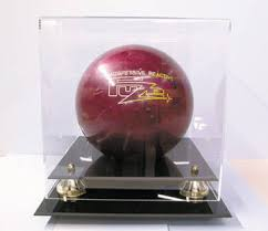 Bowling Ball Display Stand Bowling Ball Deluxe Display Case Cube Display Item 2