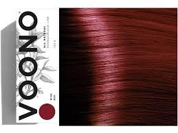 Voono Henna Wine Red Rostlinná Barva Na Vlasy Vínově červená 100g