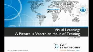 Visual Learning Strategies Visual Learning A Picture Is Worth An Hour Of Training
