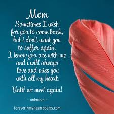missing mom es from son