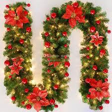 Diy Weihnachtsschmuck Rattan Bar Tops Band Weihnachten Home Decoration Girlande Christbaumschmuck 27 Mt Wx9 1048