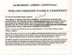 """Stacy """"Ann"""" Andrews Drumright (1758-1807) - Find A Grave Memorial"""