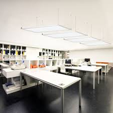 suspended office lighting. LED Panel Suspended Hanging Ceiling Light Office Or Home Commercial Warehouse Lighting