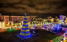Festival Of Lights Manhattan Ks The Best Christmas Trees In The United States Travel