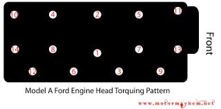 ford model a engine specifications motor hem model a engine head torquing procedure