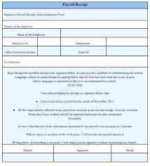 Payroll Forms Free Template Payroll Forms Template Download Receipt Format Word Doc 6