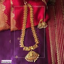 Mango Design Gold Chain 21 Traditional Mango Mala Necklace Designs South India Jewels