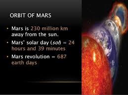 essay on mars planet