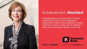 Simmons Bank - Congratulations to Carole Smith, our senior...   Facebook