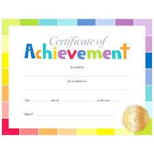 Elementary School Certificates Barca Fontanacountryinn Com