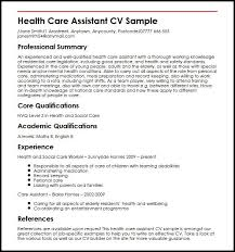 Personal Care Assistant Resume Best Of Health Care Cover Letter