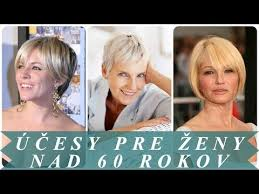 účesy Z Polodlhých Vlasov Pre Staršie ženy