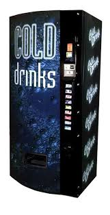 Personal 12 Can Soda Vending Machine New Dixie Narco Model 48E 48oz Can Machine Cold Drink