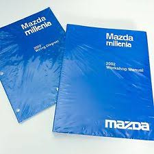 mazda car and truck manuals new 2002 mazda millenia oem workshop service repair manual wiring diagram