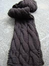 Cable Knit Scarf Pattern Custom Rambling Free Pattern Blue Sky Fibers