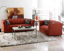 top red living room casual. Modren Casual Industrial Novelty Memory Foam Velvet Loveseat Casual Chaise Sleeper Red  Shaped Square Living Room Charcoal Pillows Cozy Seat Night Settee  Intended Top O