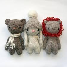 Knitted Stuffed Animal Patterns