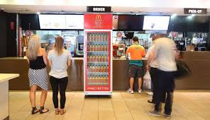Big Mac Vending Machine Stunning Burger Sauce Vending Machines Burger Sauce