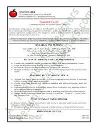 Example Resumes For Teachers 7 Best Resume Samples Images Teacher Resume Template Teacher