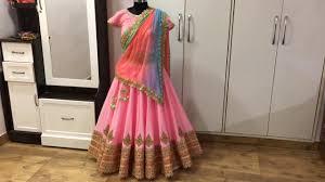 Gopi Dress Design Sweet Pink Gopi Dress Gopi Skirt Gopi Outfit Gopi Design Gopi Lehenga Wear A Gopi Dress