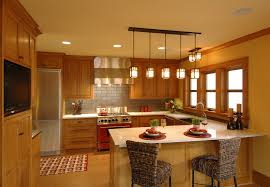 traditional kitchen lighting ideas. Country Primitive Lighting With Cabinet Range Hoods Kitchen Traditional And Stainless Steel Appliances Ideas I